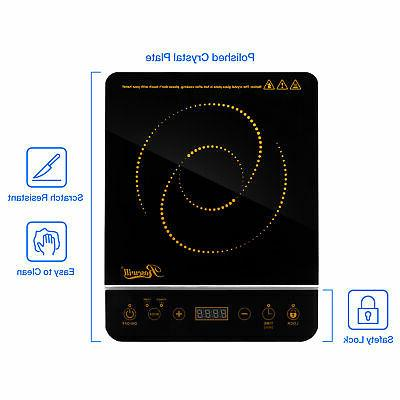 Induction Burner 1800w Stainless Pot