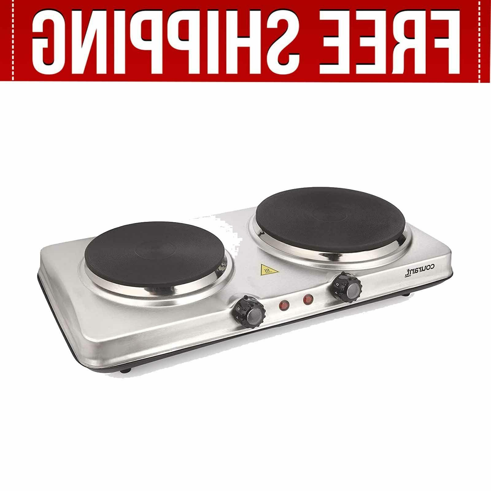 Electric Cooktop Burner Hot Plate Portable Burners Kitchen Cooking