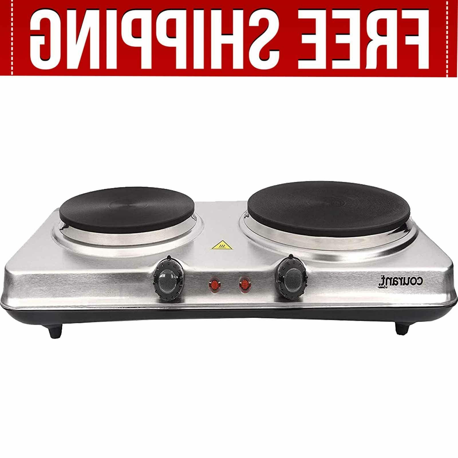 electric cooktop burner 1700w hot plate portable