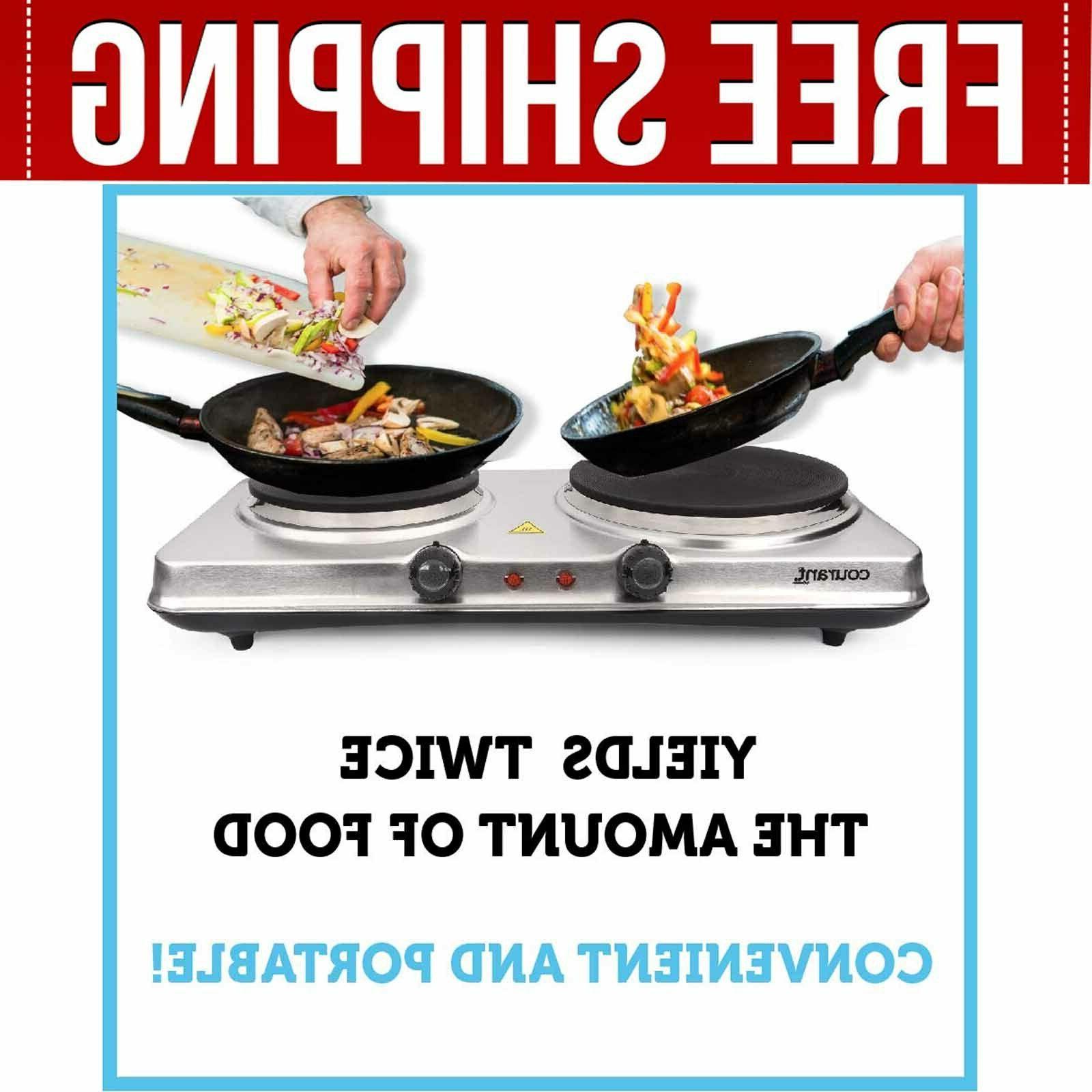 Electric Cooktop Burner Hot Plate Burners Stove