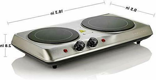 Electric Cooktop Burner Ceramic Hot 2