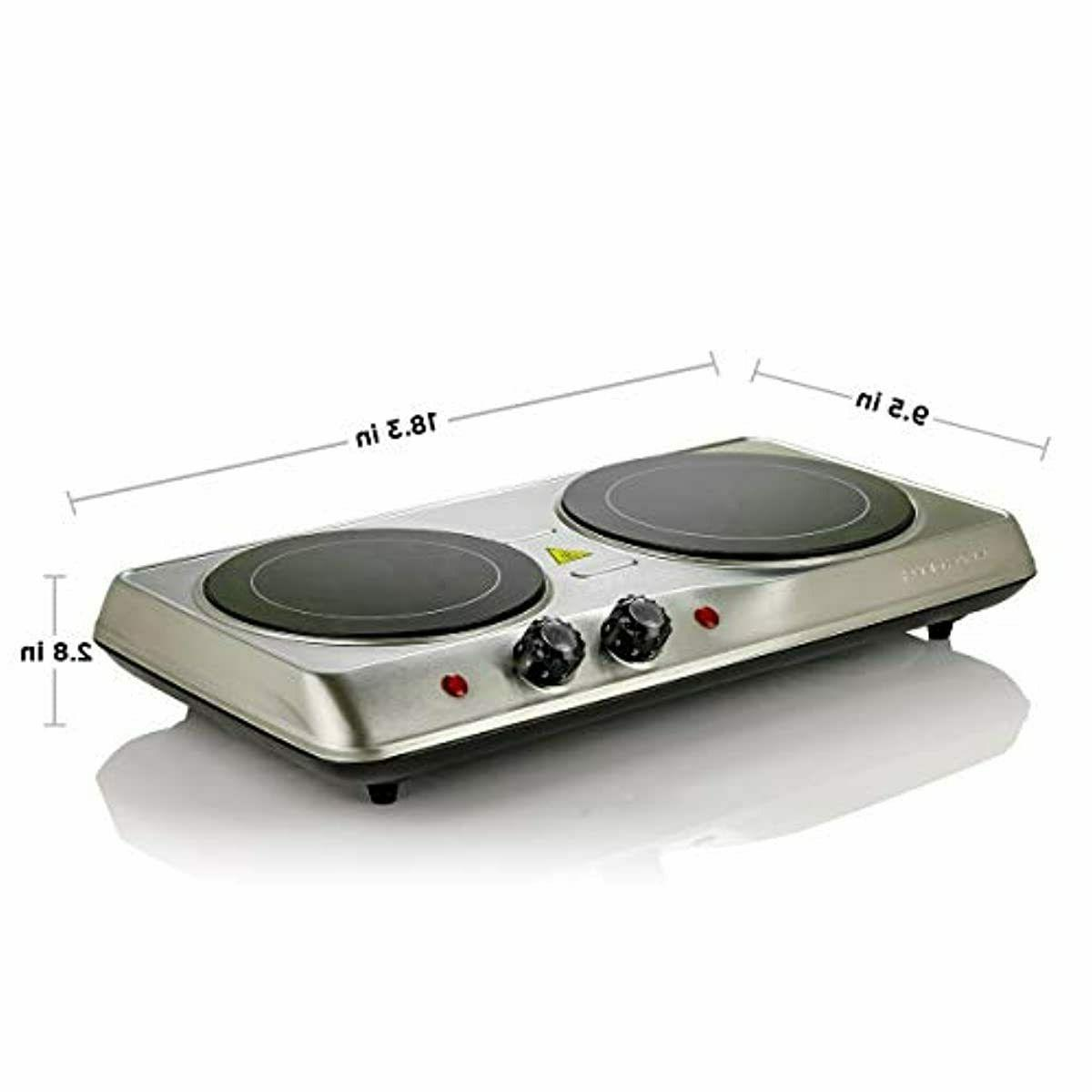 Electric Cooktop Ceramic Hot Plate 2 Two