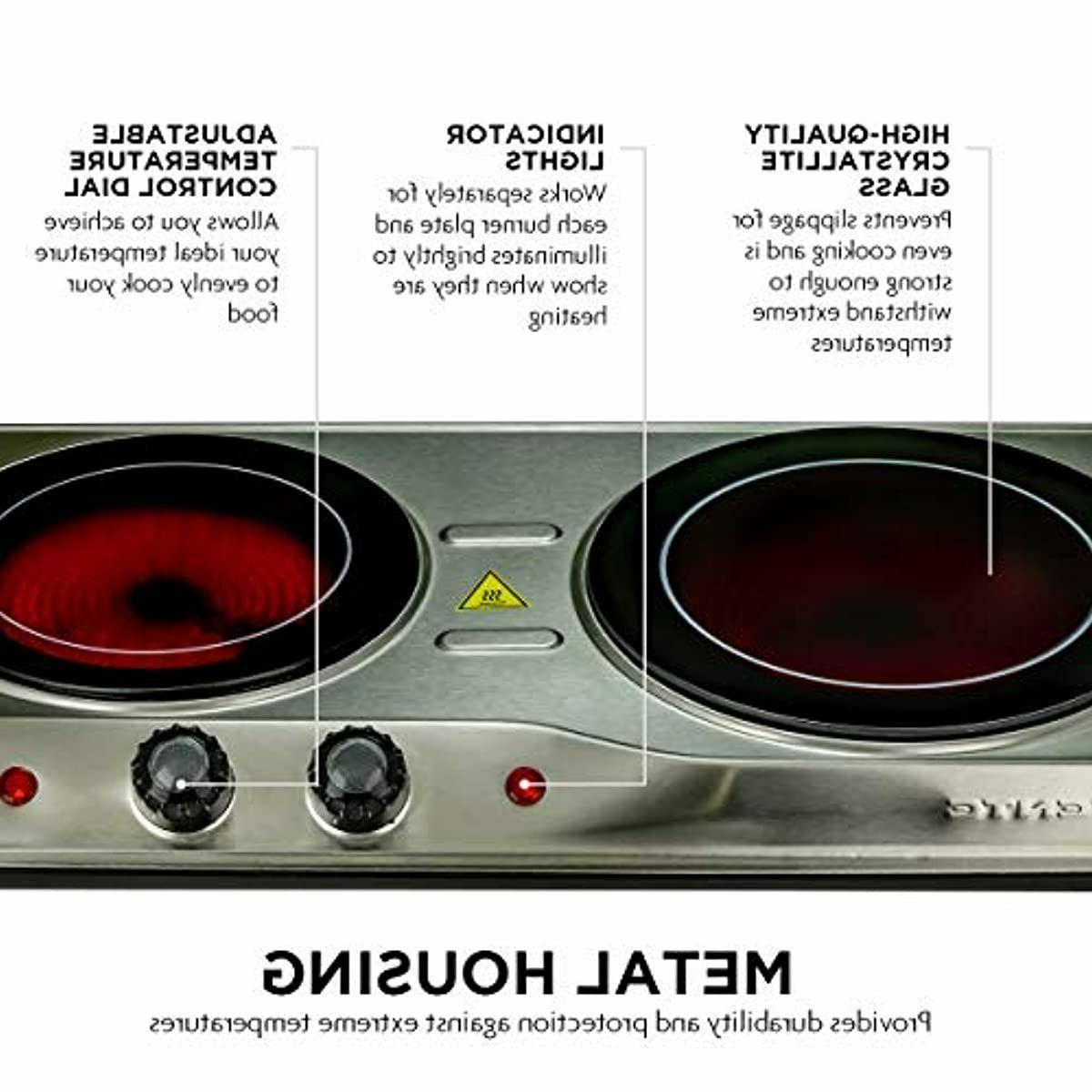 Electric Cooktop Infrared Ceramic 2