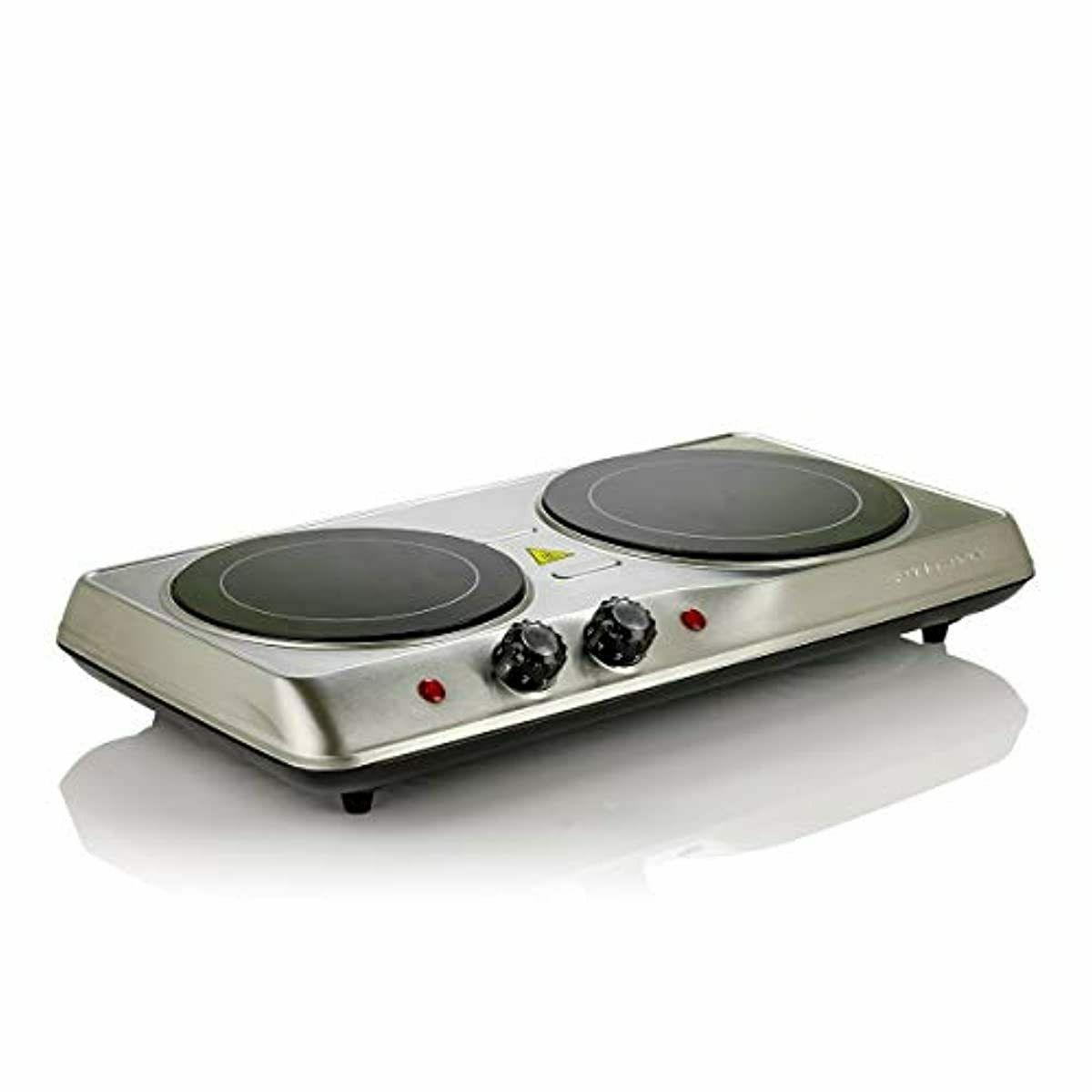 Electric Cooktop Burner Ceramic Plate 2 Two