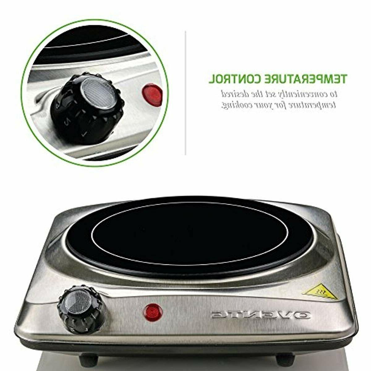 Electric Induction Glass Hot Plate Stainless Portable