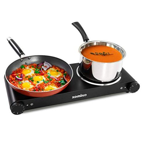 Cusimax Cooktop Plate for CMIP-B180 - Stainless -