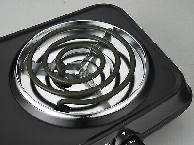 Electric Double Hotplates Heating Plates Portable Cooking