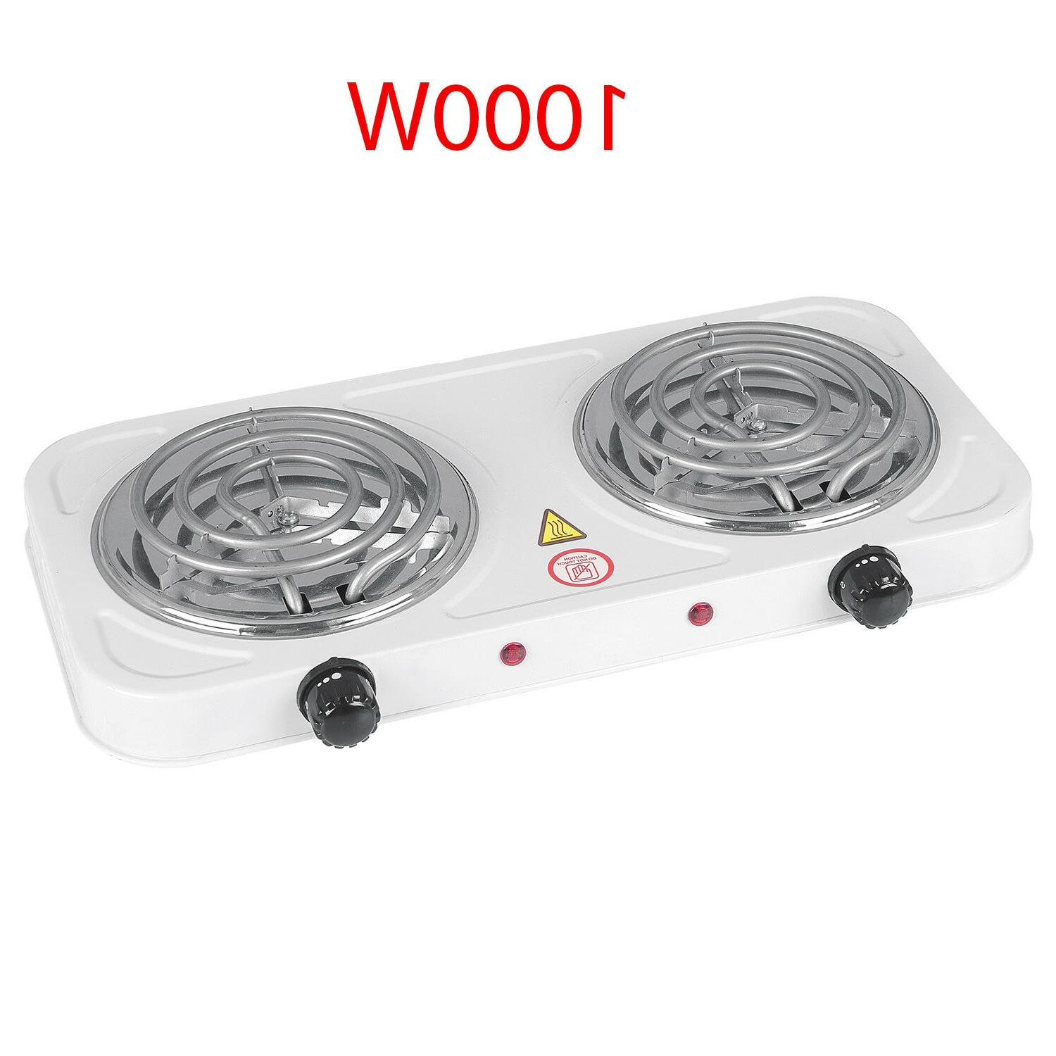electric double burner hotplates heating plates portable