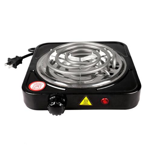 Portable Electric Burner 110V Portable Stove Stainless