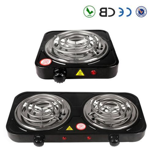 electric double single burner portable hot plate