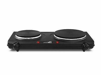 electric double two buffet burner