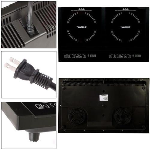 Electric Stove Hot Plate Burners Cooktop Levels Timer