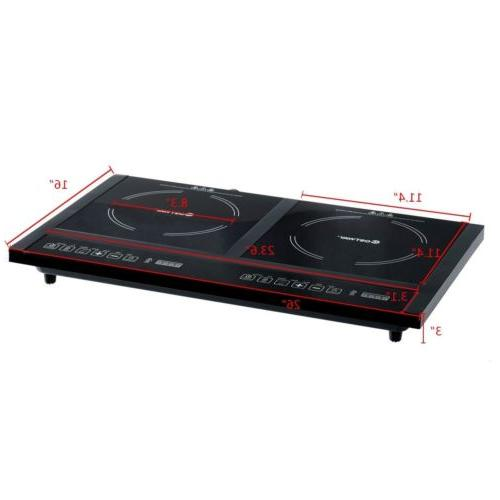 Electric Stove Cooktop 8 Levels Timer