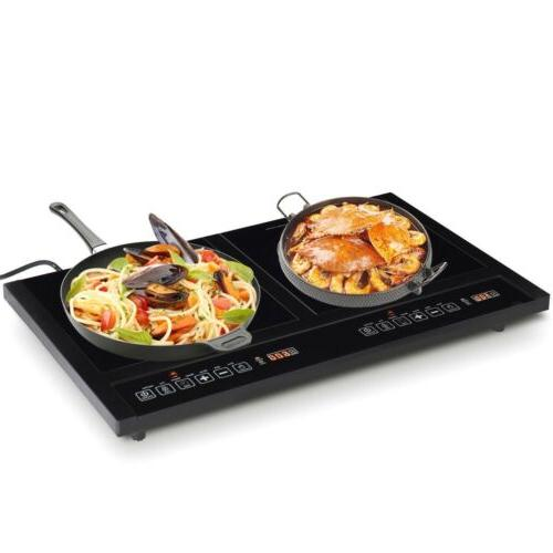 electric dual induction cooker stove hot plate
