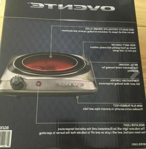 Ovente Electric Burner 7 Hot Plate