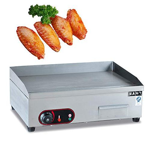 3000W Electric Griddle Top Restaurant Grill BBQ