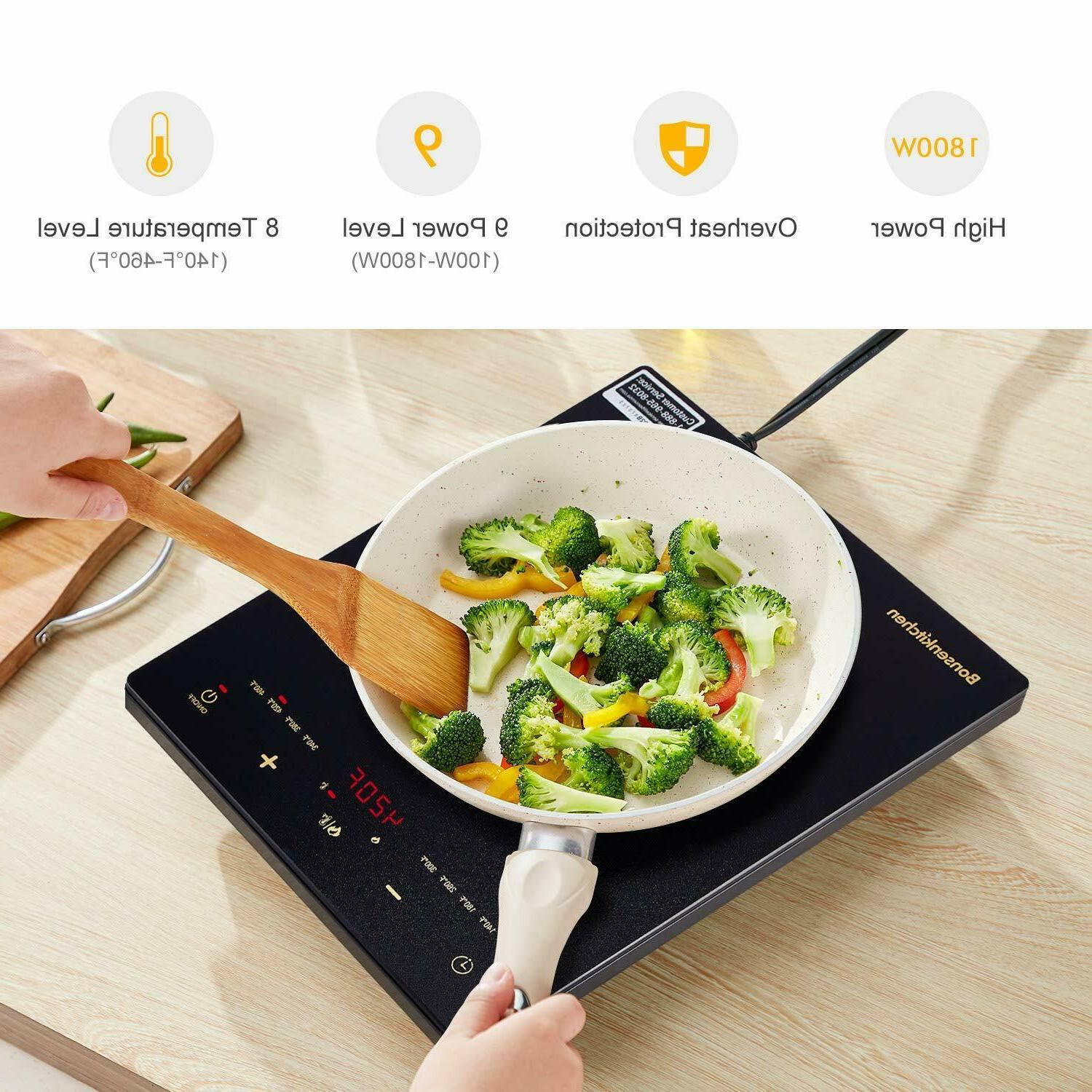 Electric Cooker Cooktop Portable Digital Plate