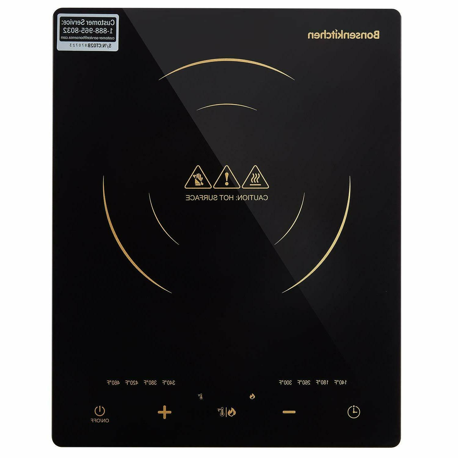 Electric Induction Cooktop Portable Burner Hot Plate