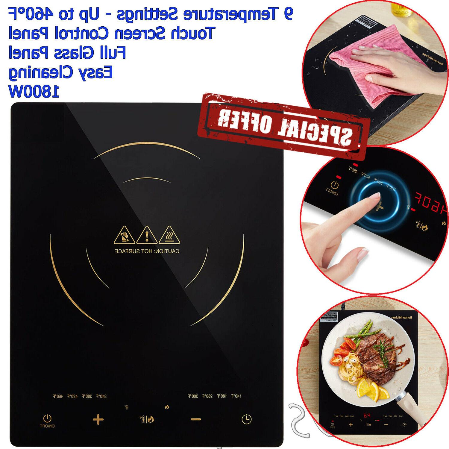 electric induction cooker cooktop portable burner digital