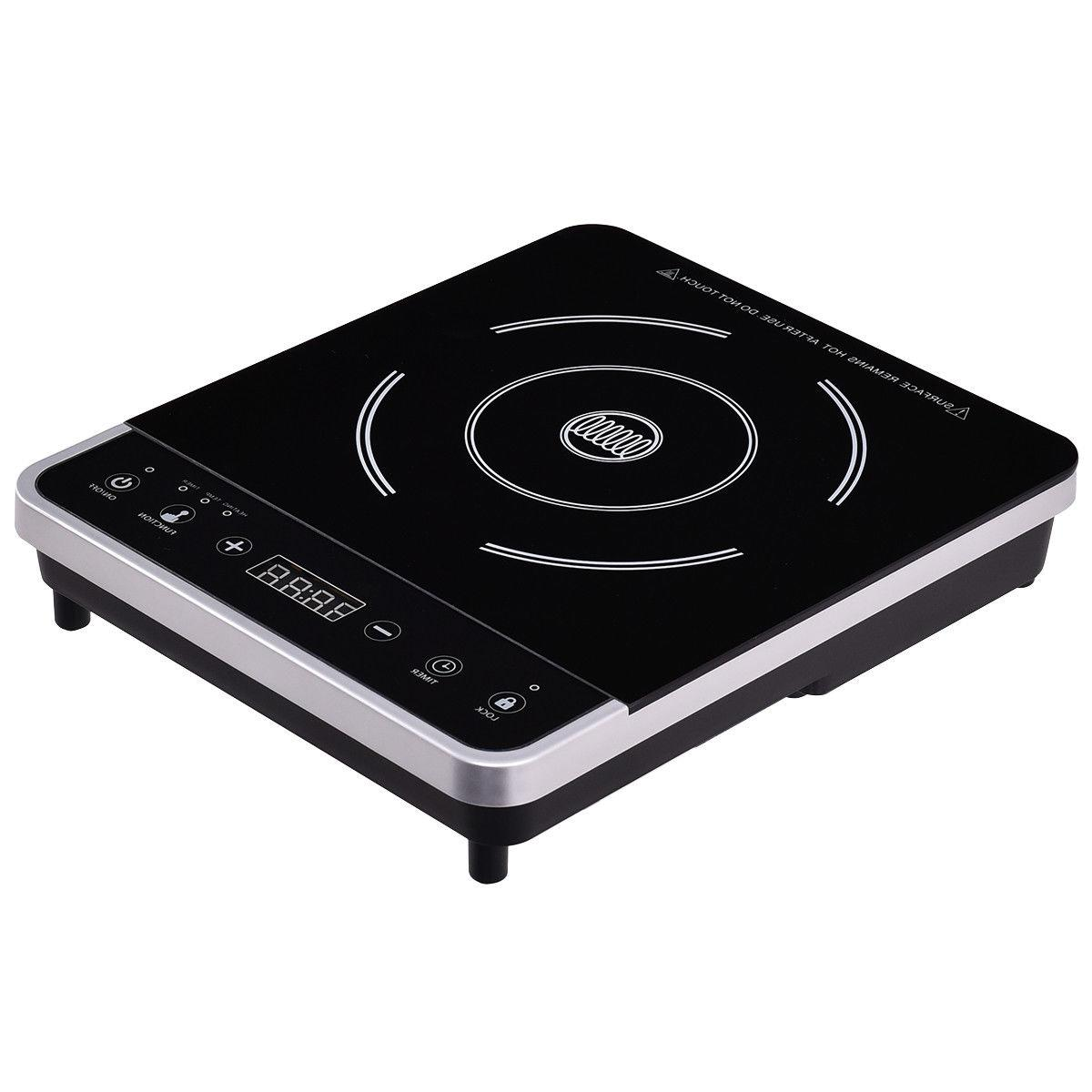 Electric Burner Digital Hot Cooktop Countertop New