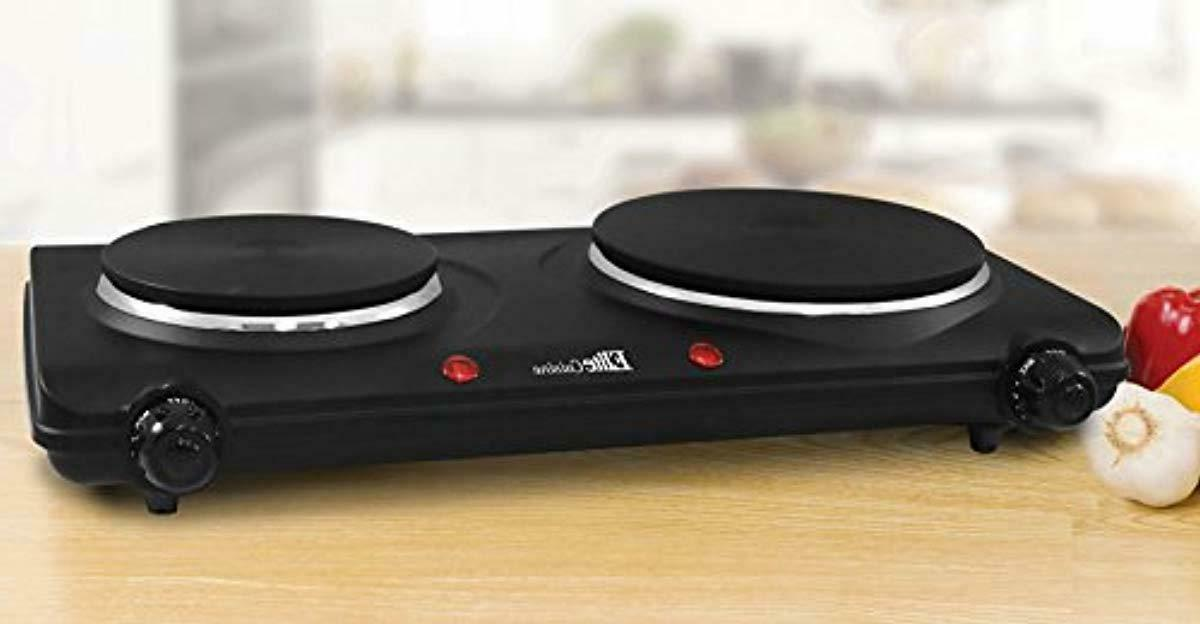Kitchen Electric Double Hot Plate Portable Cook