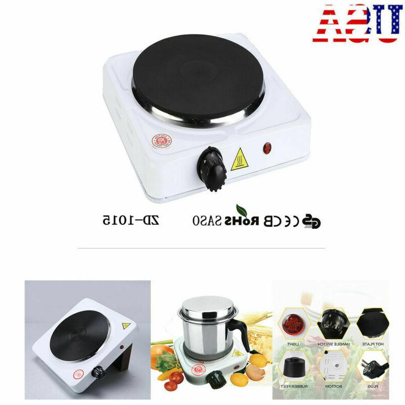 ELECTRIC Hot Plate Stove Countertop Travel Cooker 1000 W