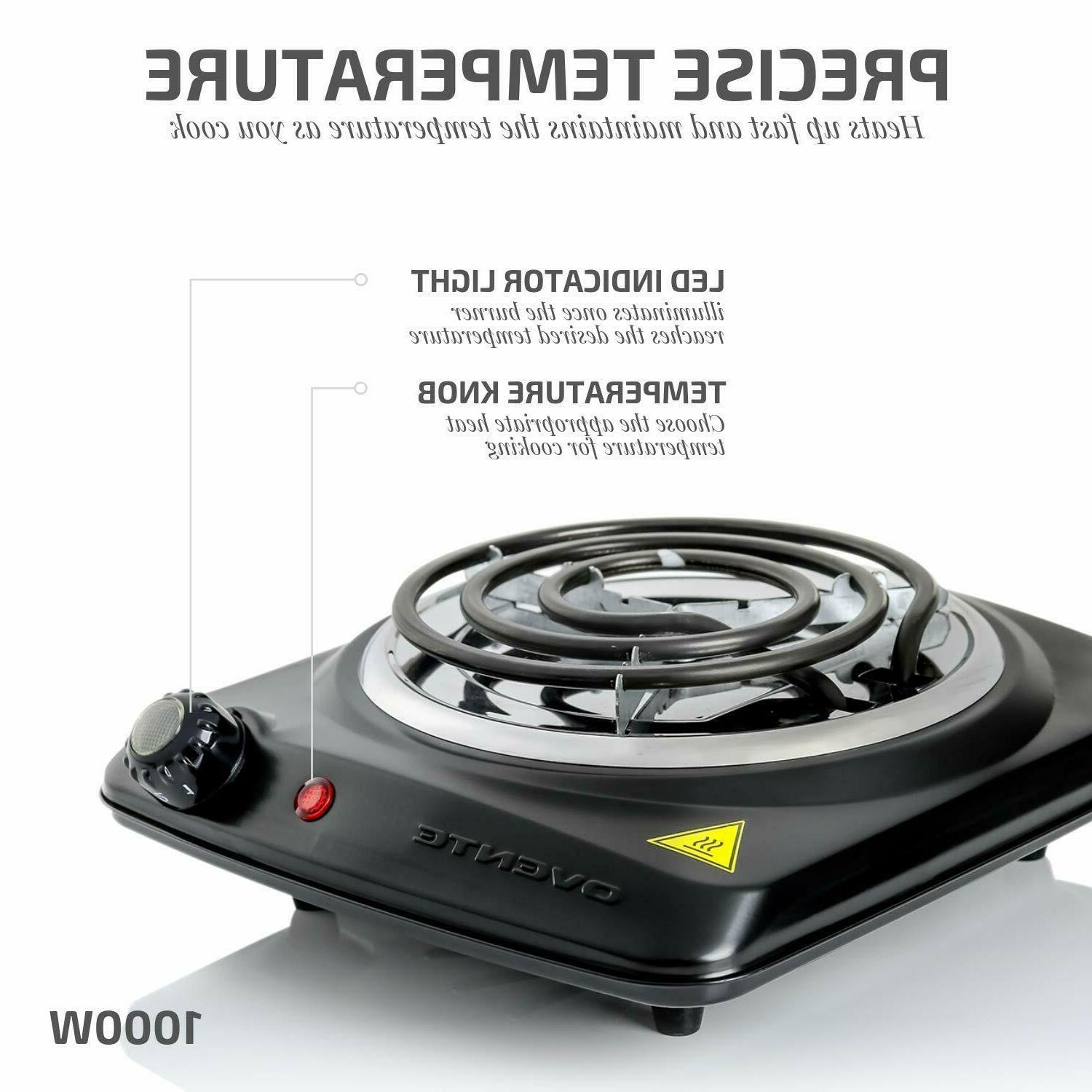 ELECTRIC SINGLE Hot Plate Travel