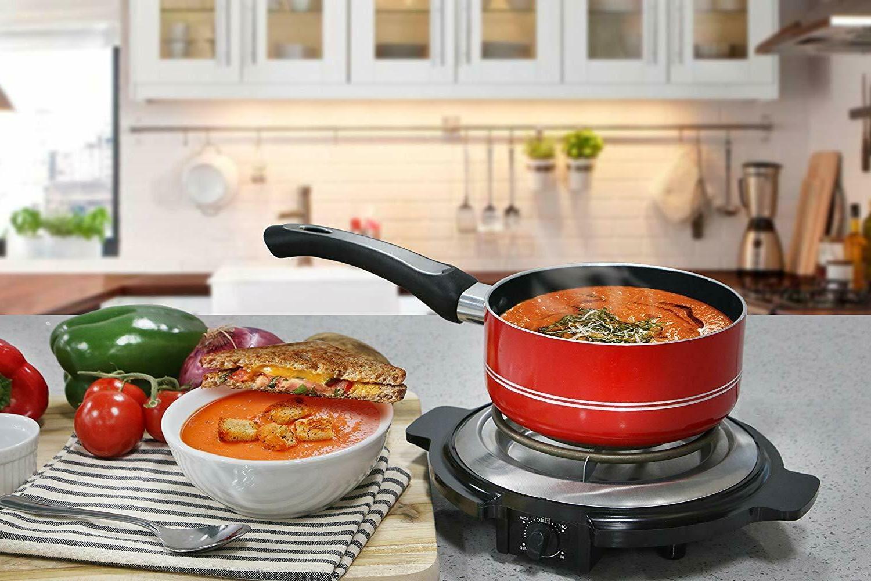 ELECTRIC SINGLE BURNER Hot Plate Travel Cooker