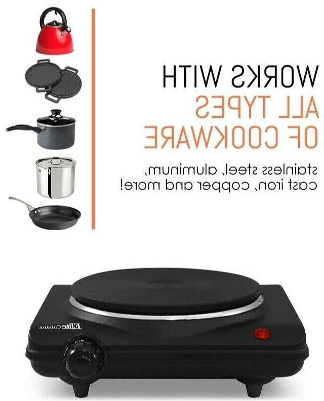 Electric Single Burner Cooking Stove Commercial Portable