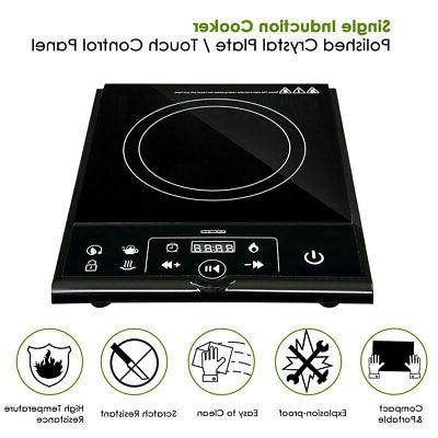 electric single induction cooker portable cooktop burner