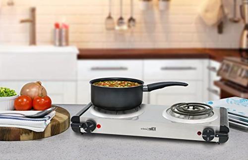 Elite Cuisine Coil Stainless Steel