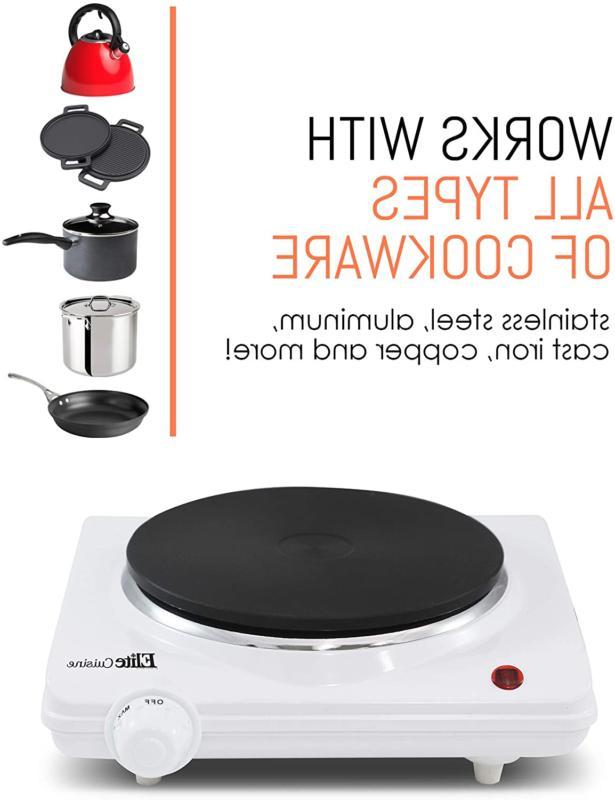 Portable Single Iron Hot Burner Stove Food Us