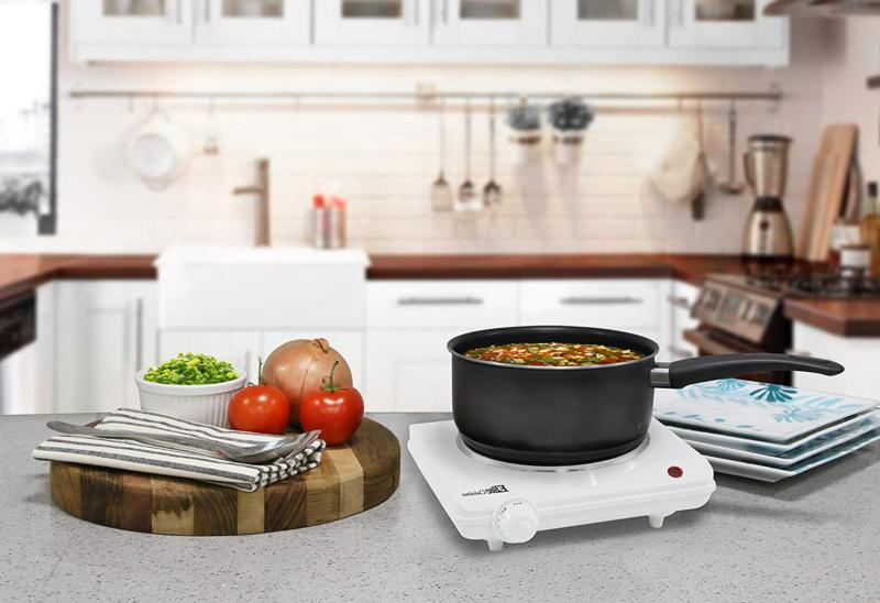 Portable Single Cast Iron Hot Plate Stove Cooking Us