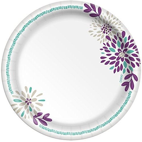 Dixie 8 10 Packs 48 Plates, Light Plates