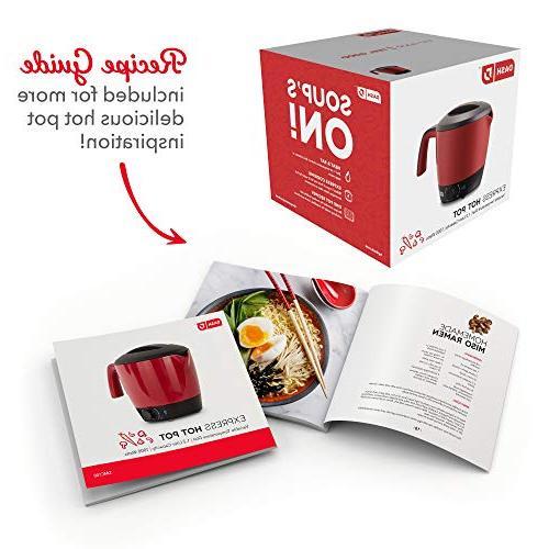 DASH Cooker Pot Temperature Rice, Boiling Water