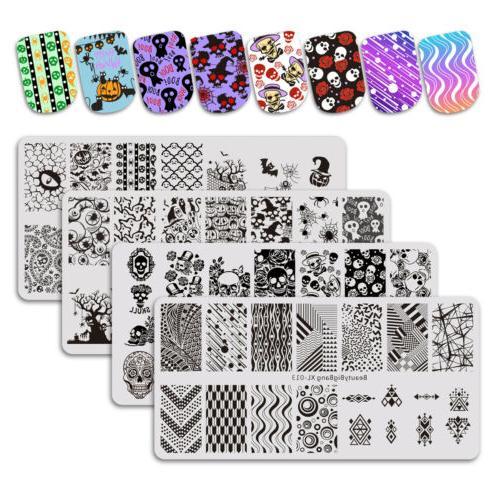 HOT BEAUTYBIGBANG Stamping Plates Art Stamp Stencils