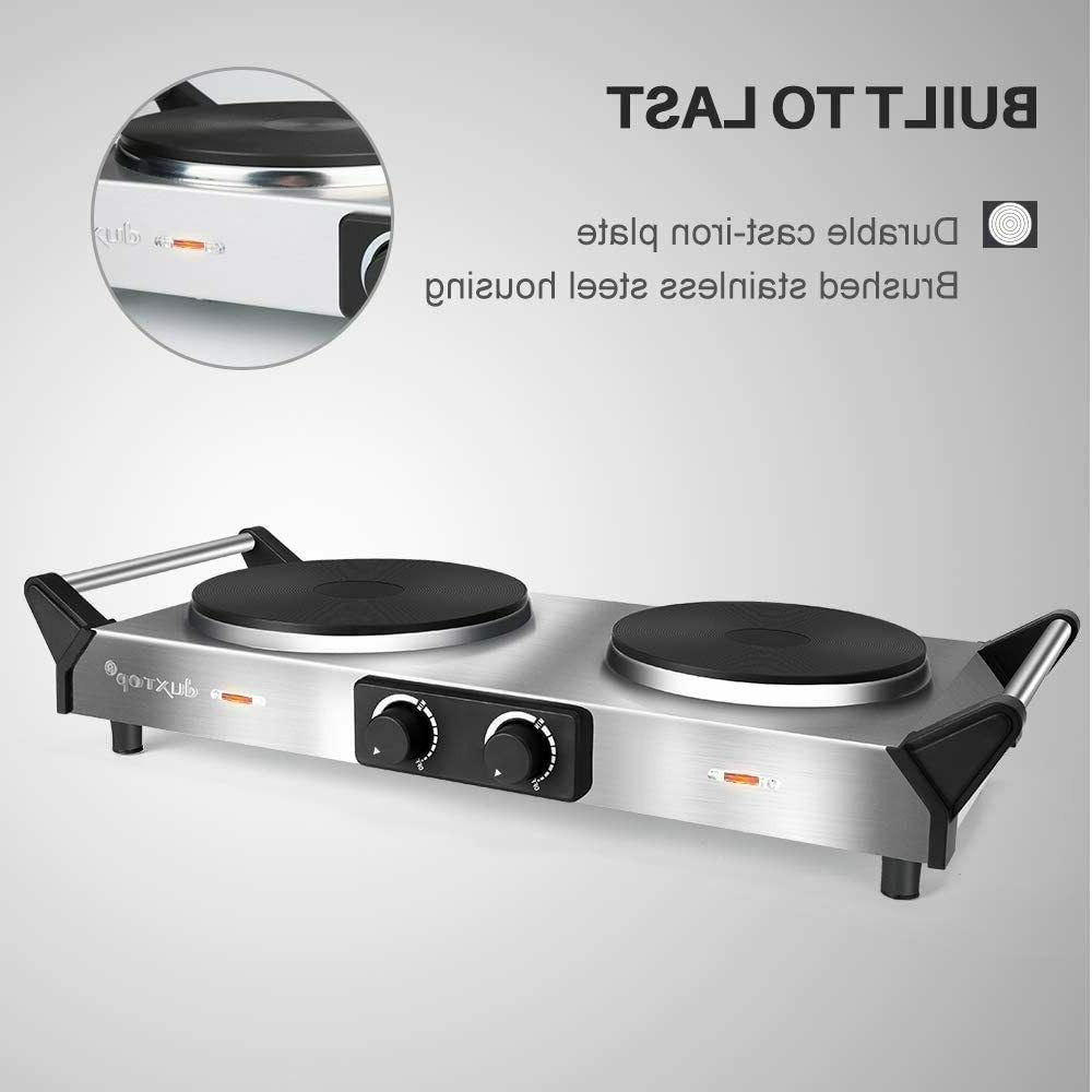 Hot Cooktop Cast Stovetop, Stainless