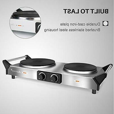 Duxtop Plate, Portable Electric Cast Stovetop,