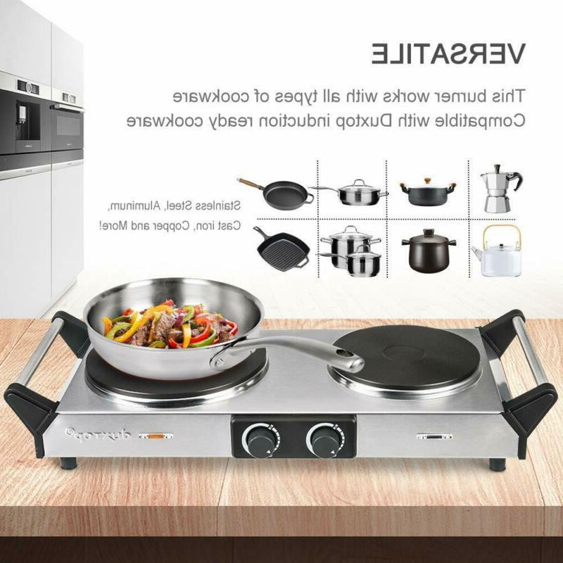 Duxtop Plates Cast-Iron Stove Cooktop A