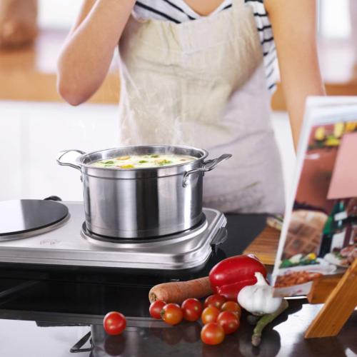 Hot Plates for 1800W Electric Burner with Handles 6 Levels