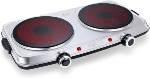 hot plates for cooking 1800w electric double