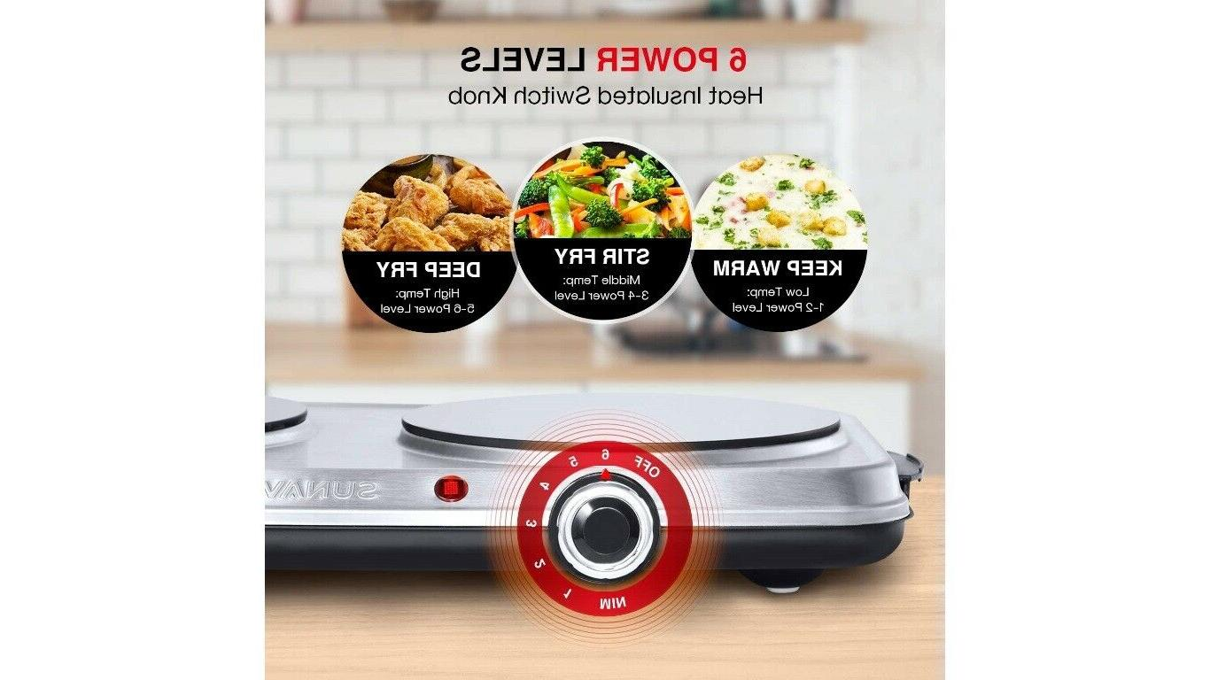 Hot for Electric stove for cooking 1800W,6 Power