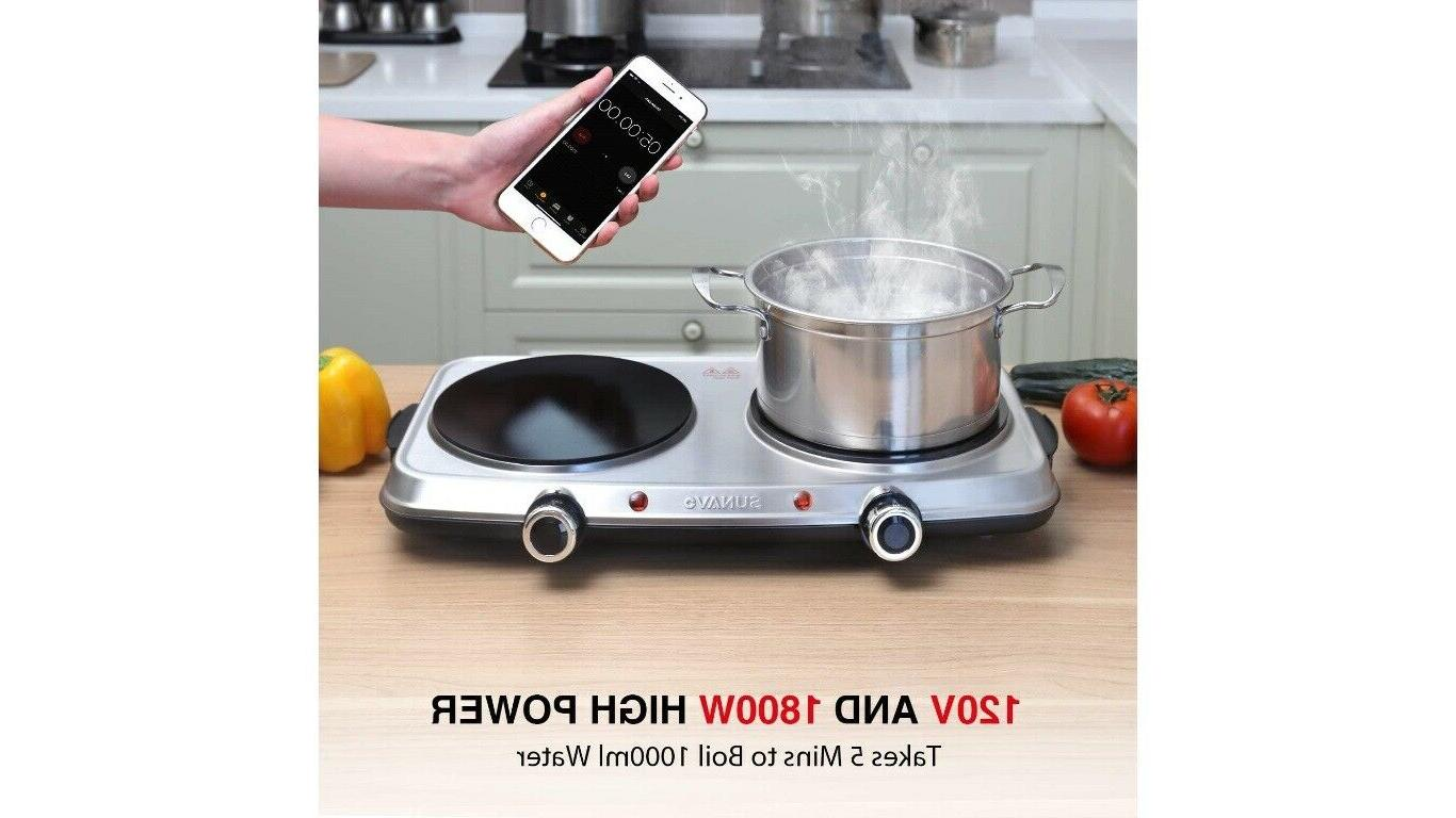 Hot Plates for Electric 1800W,6 Power