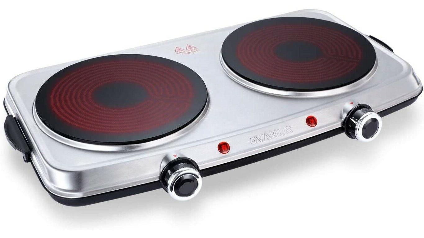 hot plates for cooking electric stove