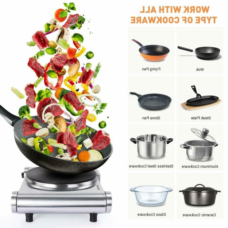 Cooking Electric 1500W Portable