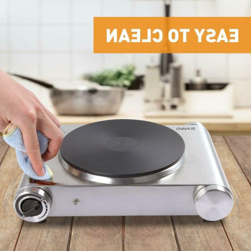 Sunavo Cooking Electric Single 1500W Portable