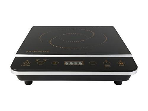 """Cooker 10"""" 3.5 Qt 18-8 Stainless Steel Pot, Gold, RHAI-16001"""