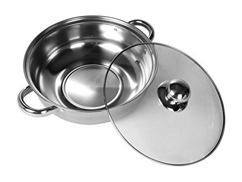 """Rosewill Cooker 10"""" 3.5 Stainless RHAI-16001"""
