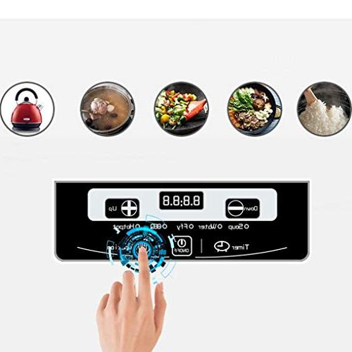 Induction Cooker 2000W Touch 6 Setting