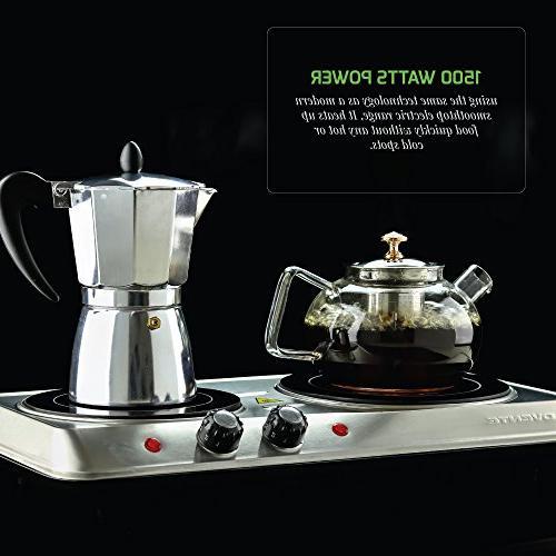 Ovente Ceramic Cooktop, and Portable Stove,